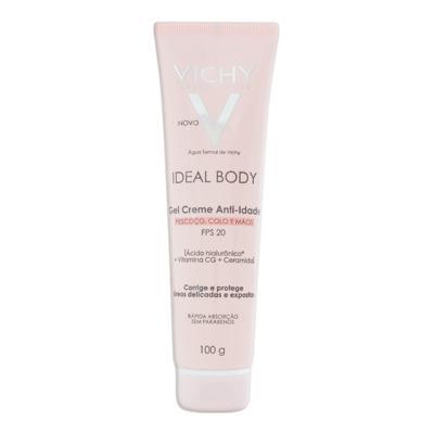 Imagem 2 do produto Vichy Ideal Body Gel Creme Antiidade FPS 20 - Vichy Ideal Body Gel Creme Antiidade FPS 20 100g