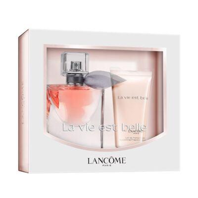 La Vie est Belle Lancôme - Feminino - Eau de Parfum - Perfume + Loção Perfumada - Kit
