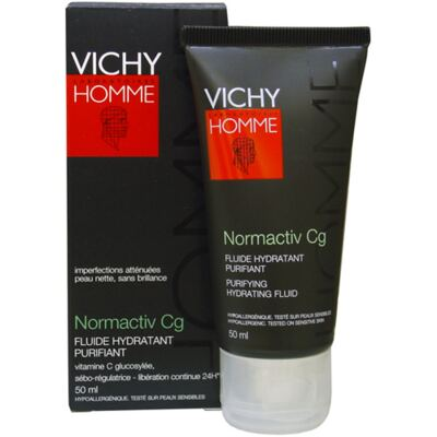 Normactiv Cg Vichy - Hidratante para Peles Masculinas Oleosas - 50ml