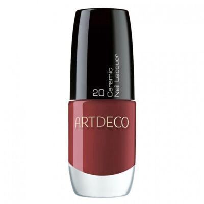 Imagem 1 do produto Ceramic Nail Lacquer Artdeco - Esmalte - 20 - Tango Red