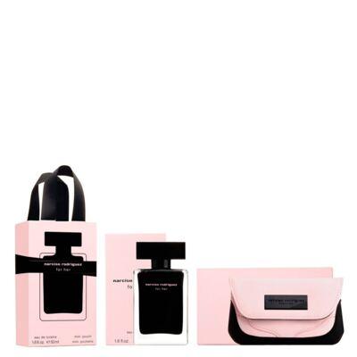 Imagem 1 do produto Narciso Rodriguez For Her Narciso Rodriguez - Feminino - Eau de Toilette - Perfume + Nécessaire - Kit