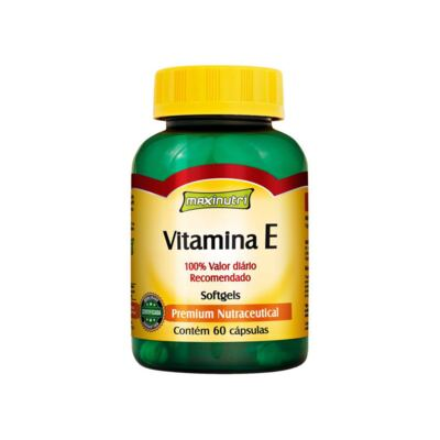 Vitamina E 60cps - Maxinutri - 60Cps