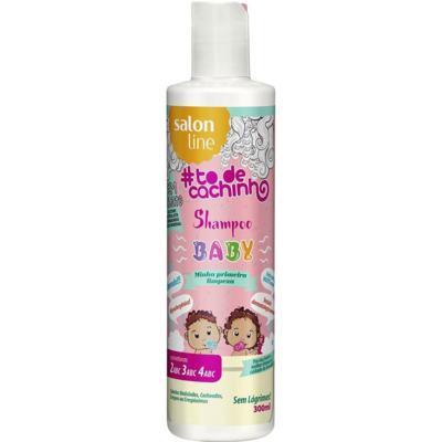 Shampoo Baby Salon Line To de Cachinho Minha Primeira Limpeza 300ml