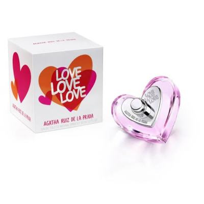 Imagem 1 do produto Love Love Love Agatha Ruiz de la Prada Eau de Toilette Feminino - 30 ml