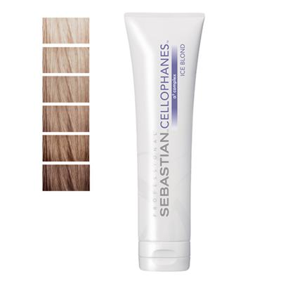 Cellophanes Sebastian 300ml - Tratamento para Cabelos Coloridos - Ice Blond