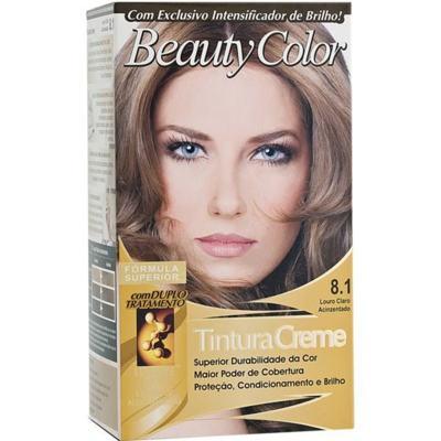 Tintura Beauty Color - 8.1 Loiro Claro Acinzentado | 1 Kit