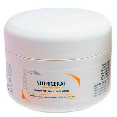 Nutricerat Máscara Ultranutritiva Ducray - Máscara de Tratamento para Cabelos Secos e Danificados - 150ml