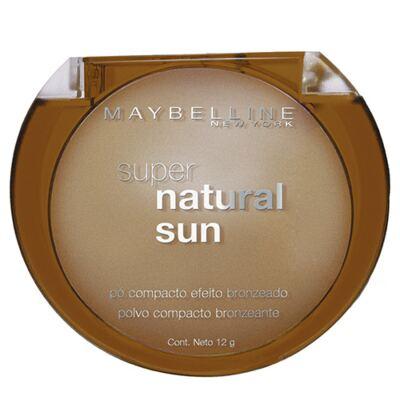 Imagem 2 do produto Super Natural Sun Maybelline - Pó Compacto Bronzeador - 22 - True Sun