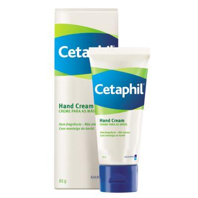 Cetaphil Hand Cream Mãos Secas e Rachadas - Creme para as Mãos - 85g