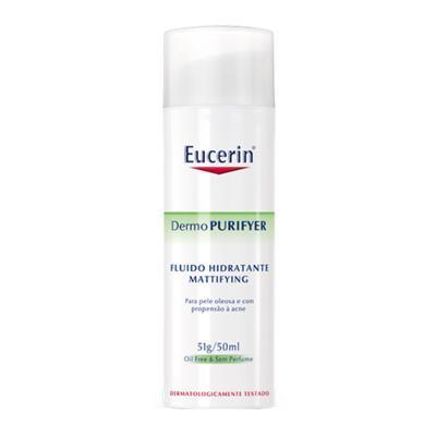 DermoPURIFYER Fluido Hidratante Mattifying Eucerin - Hidratante Facial - 50ml