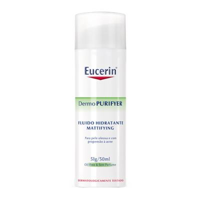 Imagem 1 do produto DermoPURIFYER Fluido Hidratante Mattifying Eucerin - Hidratante Facial - 50ml