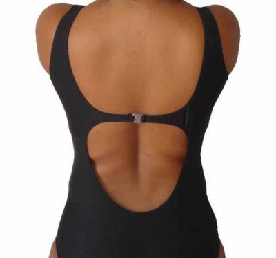 Imagem 2 do produto Maio de Piscina para Protese Mamária Curvatex - PRETO 48