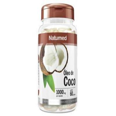 Óleo de Coco Natumed 60 cápsulas