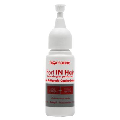 Imagem 1 do produto Biomarine Fort in Hair Fluido Antiqueda Intensivo Ampola - Biomarine Fort in Hair Fluido Antiqueda Intensivo Ampola 10 x 10ml