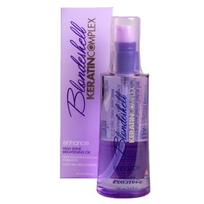 Keratin Complex Blondeshell Enhance High Shine Brightening Oil - Óleo de Tratamento - 100ml