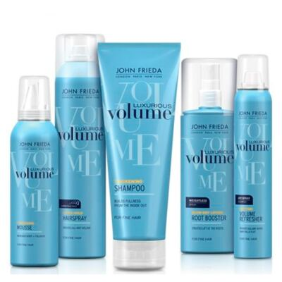 Imagem 4 do produto John Frieda Luxurious Volume Extra Hold Hairspray - Spray Fixador - 283g