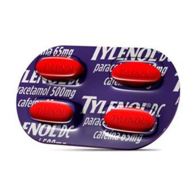 Tylenol DC - 4 comprimidos