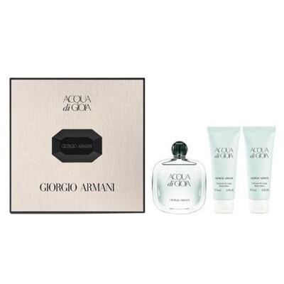 Imagem 1 do produto Acqua di Gioia Giorgio Armani - Feminino - Eau de Parfum - Perfume + Gel de Banho + Loção Perfumada - Kit