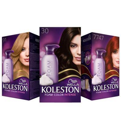 Imagem 1 do produto Tintura para os Cabelos Koleston Espuma - 67 - Chocolate