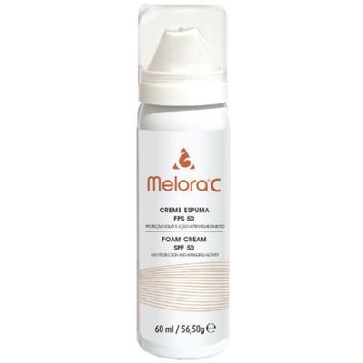 Imagem 1 do produto Melora C Creme Espuma Antienvelhecimento Fps 50 Melora - Creme Antienvelhecimento com Fps 50 - 60ml