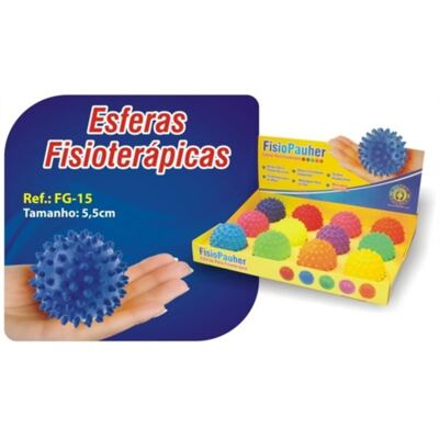 Imagem 1 do produto ESFERA PARA FISIOTERAPIA FG-15 ORTHO PAUHER - VERMELHO