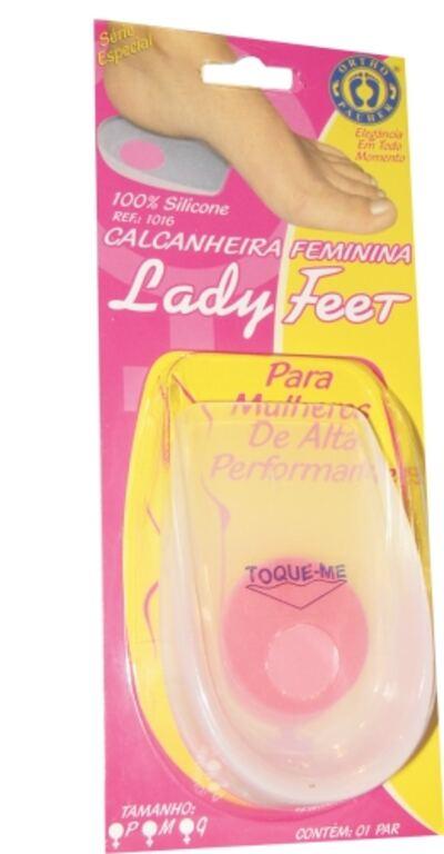 Imagem 3 do produto CALCANHEIRA FEMININA LADY FEET 1016 ORTHO PAUHER - M