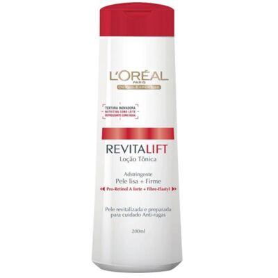 Imagem 1 do produto Tônico Facial L'Oréal Paris Adstringente Revitalift - 200ml