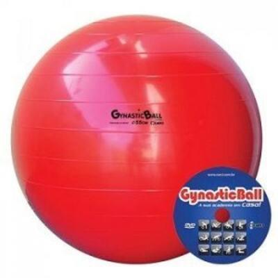 Imagem 1 do produto BOLA GYNASTIC BALL 55CM CARCI - BOLA GYNASTIC BALL55CM CARCI