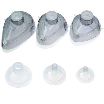 Imagem 1 do produto Máscara para Reanimador Manual Tipo Ambu de Silicone - MASCARA AMBU Nº 04 MD