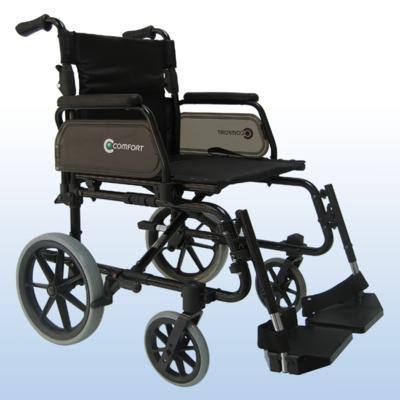 Imagem 1 do produto Cadeira de Rodas Pneu Maciço SL-7100 Praxis - Assento 46 cm