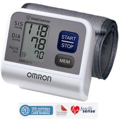 Imagem 1 do produto Teste-Aparelho de Pressão Arterial de pulso Automático Hem-6200 Omron - Aparelho de Pressão Arterial de pulso Automátcio Hem-6200 Omron
