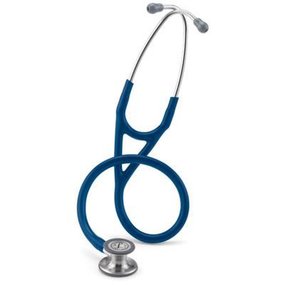Kit Esteto Littmann Cardiology IV Azul Marinho com Aparelho de Pressão Bic Azul