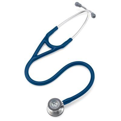 Imagem 2 do produto Kit Esteto Littmann Cardiology IV Azul Marinho com Aparelho de Pressão Bic Azul