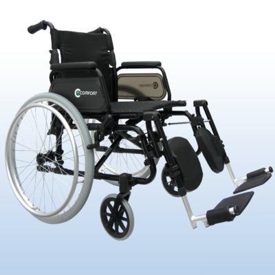 Cadeira de Rodas com Apoio de Panturrilha SL-7100 Comfort Praxis - Assento 40 cm