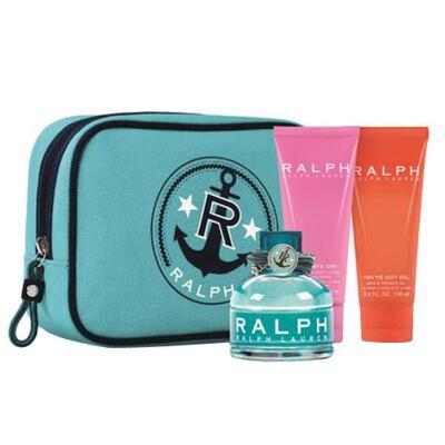 Imagem 1 do produto Ralph Ralph Lauren - Feminino - Eau de Toilette - Perfume + Gel de Banho + Nécessaire + Loção Corporal - Kit
