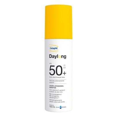 Cetaphil Daylong FPS50+ Loção Lipossomal Sensitive - Protetor Solar - 150ml