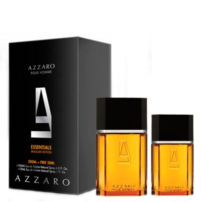Azzaro Pour Homme Masculino Eau de Toilette 200ml + GANHE Azzaro Pour Homme 30ml - Kit