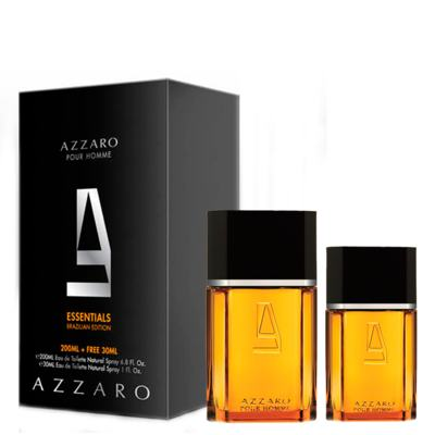 Imagem 1 do produto Azzaro Pour Homme Masculino Eau de Toilette 200ml + GANHE Azzaro Pour Homme 30ml - Kit