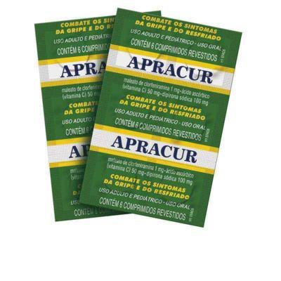 Imagem 1 do produto Apracur 6 comprimidos