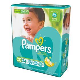 Fralda Pampers Total Confort - XG | 34 unidades