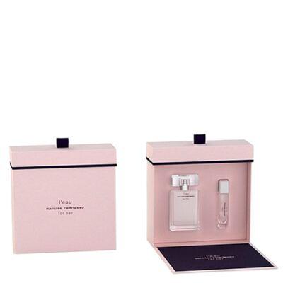 Imagem 1 do produto L'eau For Her Narciso Rodriguez - Feminino - Eau de Toilette - Perfume + Miniatura - Kit