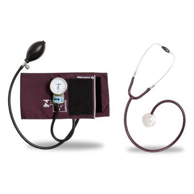 Imagem 3 do produto Kit Esteto Simples Com Aparelho de Pressão Bordo PA CJPA102 Med