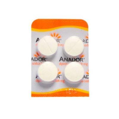 Imagem 3 do produto Anador 500mg 4 comprimidos - 4 comprimidos