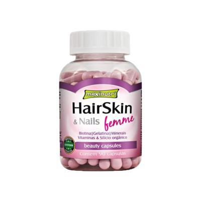 Imagem 1 do produto Hair Skin & Nails Femme 90cps - Maxinutri - 90Cps