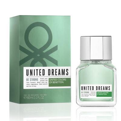Imagem 1 do produto United Dreams Men Be Strong Benetton Eau de Toilette Masculino - 100 ml