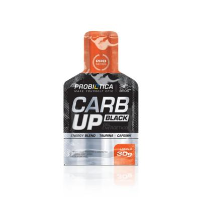 Carb Up Gel Black 30g - Probiótica - Laranja