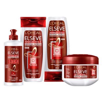Imagem 4 do produto L'Oréal Paris Elseve Reparação Total 5 Quimica - Shampoo - 400ml