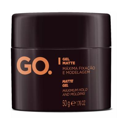 Imagem 1 do produto Gel Matte GO Máxima Fixação e Modelagem 50g