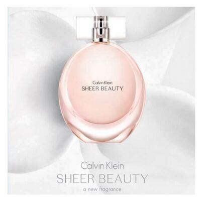 Imagem 6 do produto Calvin Klein Sheer Beauty Calvin Klein - Perfume Feminino - Eau de Toilette - 50ml