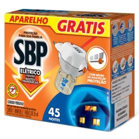 Repelente SBP 45 Noites - Líquido | 1 unidade | Aparelho e Refil